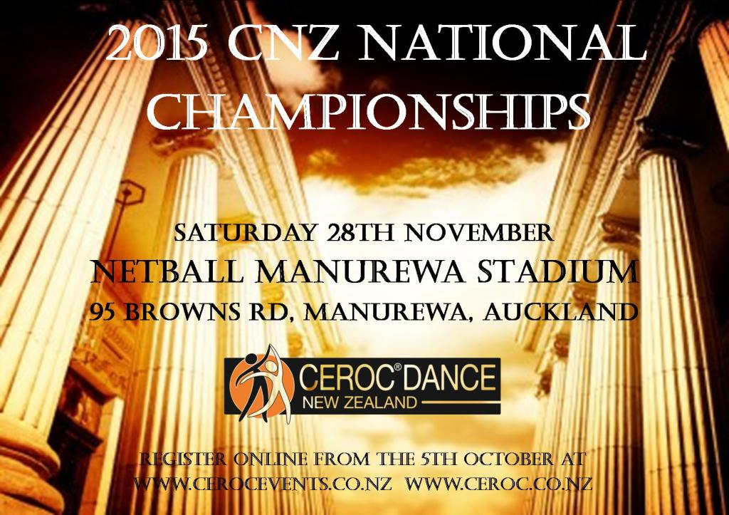 2015 CNZ Nationals