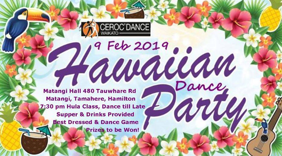 Ceroc Waikato Dance Party @ Matangi Community Hall