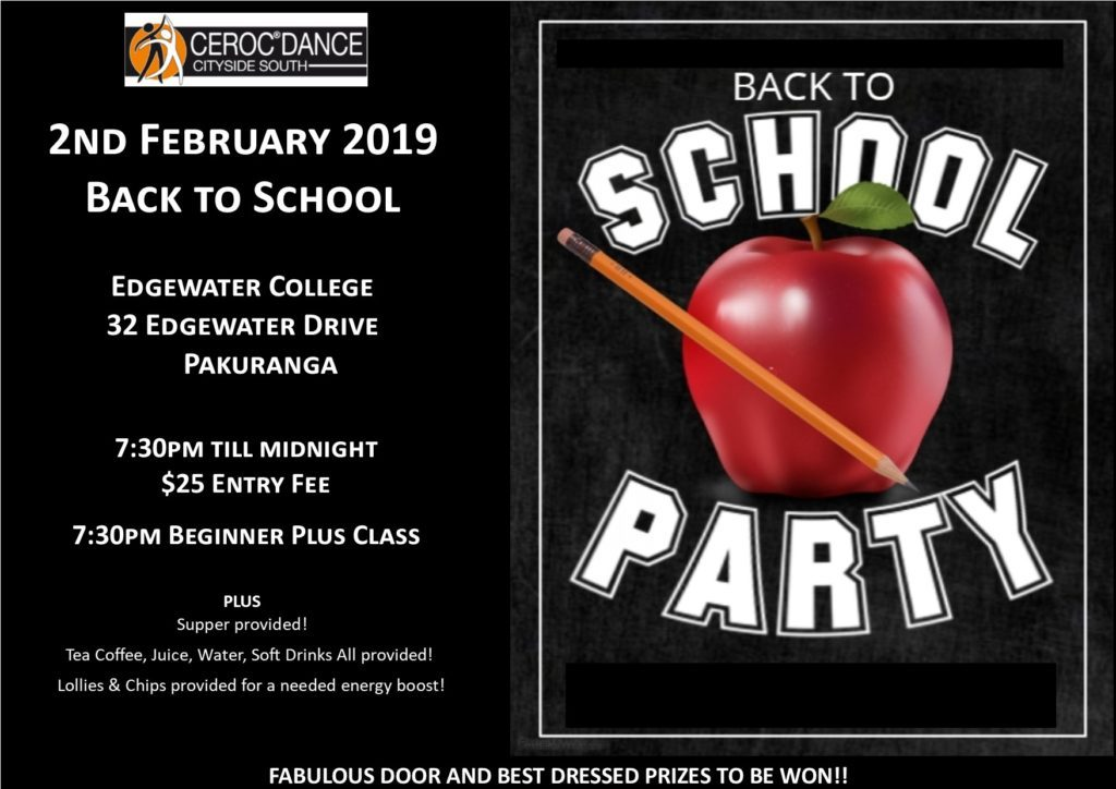 Ceroc Cityside South Dance Party @ Edgewater College | Auckland | Auckland | New Zealand