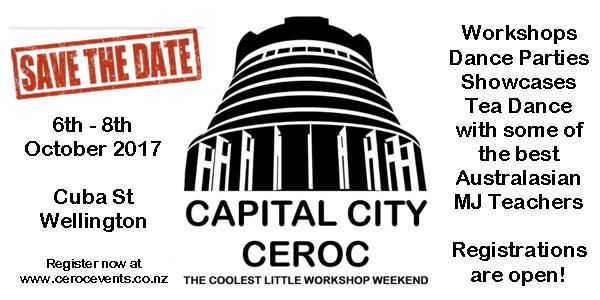 Capital City Ceroc @ Thistle Hall | Wellington | Wellington | New Zealand
