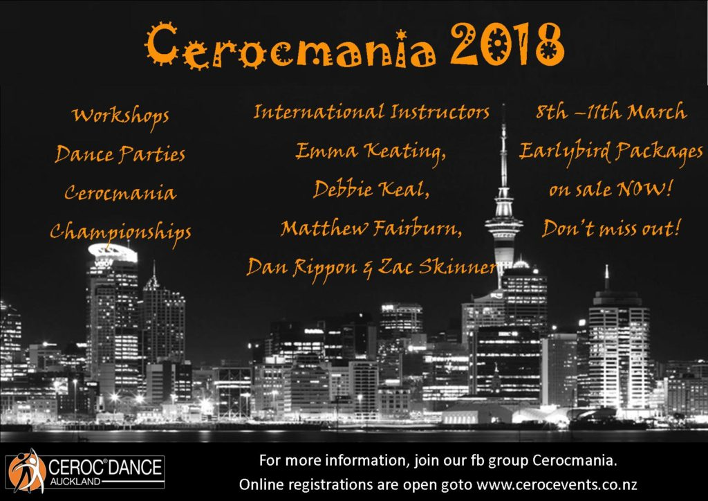 Cerocmania Welcome Dance Party @ Onehunga RSA | Auckland | Auckland | New Zealand