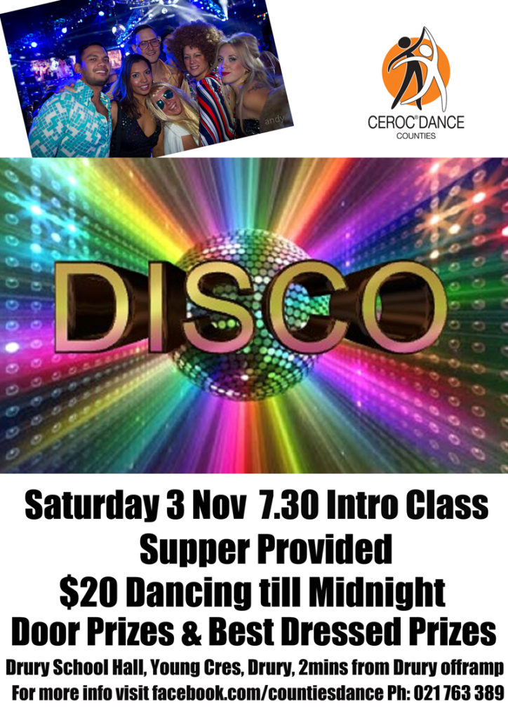 Counties Dance Party @ Drury School Hall | Drury | Auckland | New Zealand